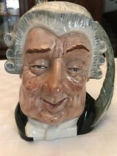 "Royal Doulton Toby Jug ""The Lawyer ""Large D 6498 7� Marked 1958"