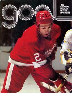 Apr. 3, 1977 Pittsburgh Penguins vs. Detroit Red Wings Game Program Vintage Rare