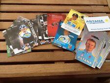 Rare Lot 62 Cartes Postales  ASTANA Contador Cyclisme Tour De France Annees 2000