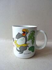 ancien mug offert par Nestlé, décor Walt Disney, le livre de la jungle, Mowgli