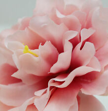 1pcs silk peony Flower wedding headdress party bridal Hair Clip Pin snow bud
