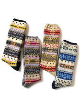"""KAPITAL """"96 Fair Isle Socks"""" Unisex 4 Colors"""