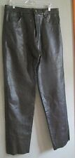 NEW Element by USA Echtes Leder BLACK Leather Lined Motorcycle Pants Sz 36 x 33