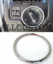 CHROME RING FRONT REAR FOG LIGHT BUTTON DASHBOARD TRIM VW GOLF 4 IV SDI TDI VR6