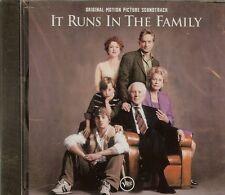 It Runs in the Family -  Soundtrack - CD - NEW