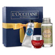 L'Occitane Starter Kit Peony Perfecting Cream, Almond Oil, Shea Butter Hand 3pc