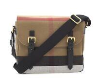 Burberry Baildon Messenger Shoulder Bag Small New