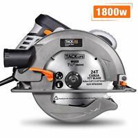 Circular Saw, TACKLIFE Upgraded 1800W 4700RPM Compact Circular Saw with 24T 7-1/