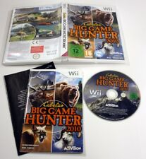 JEU Nintendo WII big game hunter 2010    complet VF
