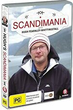SCANDIMANIA (Hugh Fearnley-Whittingstall) -  DVD - UK Compatible - Sealed