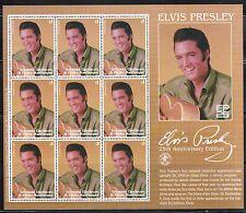 SELLOS MUSICA. GRENADA CARRIACOU  ELVIS PRESLEY 2002  MH 9v.