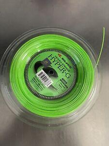 Solinco Hyper G 17 Gauge 656' 200m Tennis String Reel  Used 4 Sets