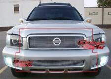 Fits 00-01 Nissan Pathfinder Honeycomb Billet Grille Combo