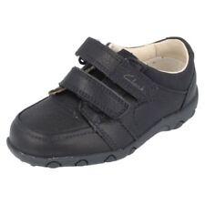 Chaussures habillées bleus boucle pour garçon de 2 à 16 ans