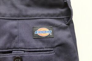 Dickies Redhawk worker trousers W38 L32 straight Navy blue VGC