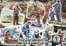 Waterloo 1815 1/72 AP055 WWI Royal Italian Air Force Pilots and Crew (16 Figurs)