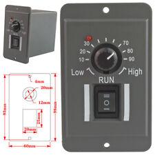 6A 12V 24V 36V 48V PWM DC Motor Speed Controller Reversible Switch Regulator-US