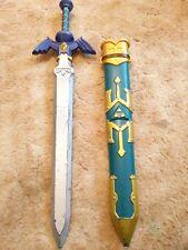 """Zelda Sword 27""""  2015 Nintendo Disguise Link Sword and Sheath LOOK!"""