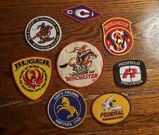 Vintage Gun Patch Lot of 8 - WINCHESTER - RUGER - COLT