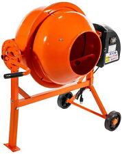 Hormigonera Electrica Mescladora De Cemento Acero Portatil 2-1/4 cu ft Mezclador