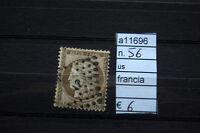 FRANCOBOLLI FRANCIA USATI N. 56 (A11696)