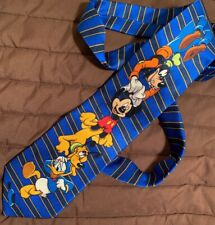 Walt Disney World Mickey Mouse 100% Silk Men's Tie
