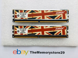 RARE !! 4GB 2 X 2GB Crucial Ballistix DDR2  Memory  PC2-6400 800MHz DIMM 240 Pin