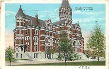 Wichita Kansas~Friends University~Christian-Based Education~Clock Tower~1920