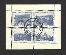 France Cinderellas : 1934 Philatelic Exposition Mulhouse S/S Exhibition postmark