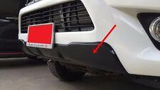 TOYOTA HILUX REVO FRONT SR5 M70 M80 2015 BLACK FRONT BUMPER CLADDING TRD GUARD