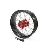"""5.0x17"""" Rear Wheel Rim Hub Set for Honda CR125 CRF250R CRF450R CRF250X CRF450X"""