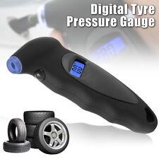 Digital LCD Tire Air Pressure Guage Meter Tester Tyre Gauge for Car Bike USA
