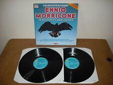 ENNIO MORRICONE  - DE MOOISTE FILMMELODIEEN  - DOUBLE LP HOLLAND RCA 31498