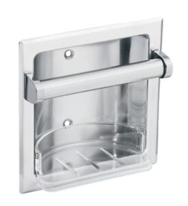 Moen 2565CH Donner Commercial Soap Holder Chrome Brand New