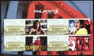 Philippines SK – 2019 Nora Aunor, Superstar, Personalized MS/4, MNH, OG, VF