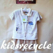 BABYWORLD Baby BOYS Two Piece Set SUIT Outfit (Shorts & Top/Tee) SIZE 0 NWT NEW