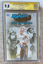 Harley Quinn 25th Anniversary - CGC 9.8 ~ Signed by Natali Sanders on Release!
