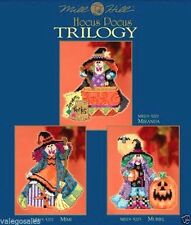 Mill Hill Beads Cross Stitch Kit ~ HOCUS POCUS TRILOGY Set of 3 #1952 Sale