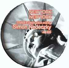 "LEMON 8 VS PAUL HARDCASTLE - New York New York vs 19 (12"") (Promo) (VG+/NM)"