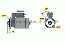 Starter - Bosch 0 001 121 026
