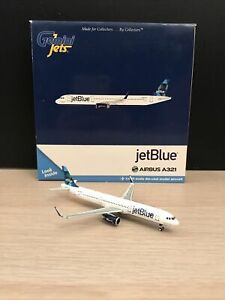 "Gemini Jets 1:400 JetBlue A321 Sharklets ""Mint"" N903JB"