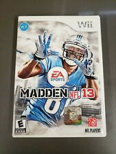 Madden 13 For Wii