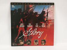 Laserdisc Glory The Movie Letterbox Format Ld Morgan Freeman