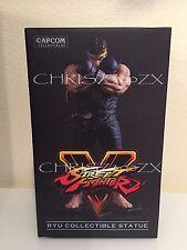 "Street Fighter V 5 Ryu Statue Figure BLUE GI/YELLOW Headband Variant 10"" Capcom"