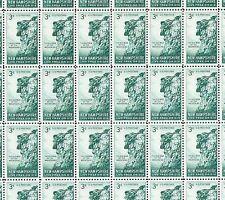 #1068 New Hampshire GREAT STONE 3¢ full sheet of 50 MNH OG