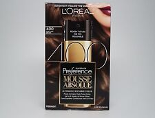 L'Oreal Paris Superior Preference Mousse Absolue, 400 Pure Dark Brown