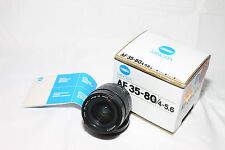 Minolta AF 35-80mm f/4-5.6 Lens for Minolta Sony Alpha AF with original BOX