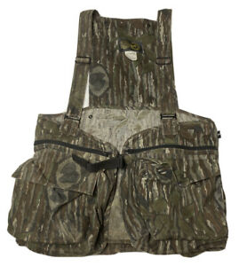 Vintage Men's HUNTING VEST Official 10X NWTF Clothing National wild Turkey Fed.