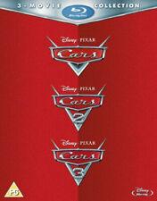 Cars 1-3 Blu-ray 2017 Region DVD