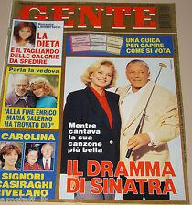 GENTE=1994/11=FRANK SINATRA=NADJA AUERMANN=LAURA PAUSINI=RUPAUL=GIANNI AGUS=